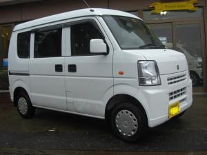 エブリィ バン 4WD (型式DA64V) FAFリフトアップスプリング取り付け 栃木県下野市 O様