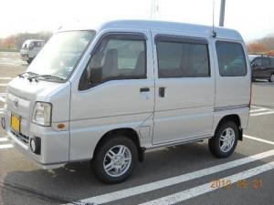 スバル サンバー バン  4WD SC (型式TV2) 北海道伊達市 A様