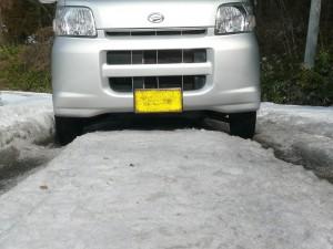 ダイハツ ハイゼット バン 4WD (型式S330V) 岩手県盛岡市 Y様