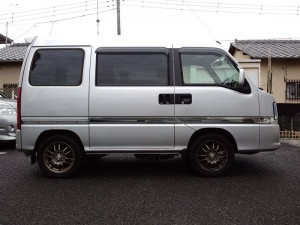 サンバー バン 4WD (型式TW2) FAFリフトアップスプリング取り付け 静岡県沼津市 K様