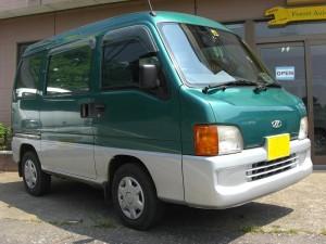 サンバー バン 4WD (型式TV2) FAFリフトアップスプリング取り付け 千葉県山武市 H様