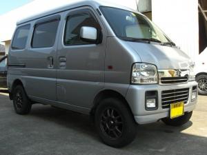 エブリィ ワゴン 4WD  (型式DA62W) FAFリフトアップスプリング取り付け 神奈川県座間市 H様