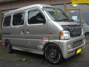 エブリィ (型式DA62) FAFリフトアップスプリング取り付け 茨城県鹿嶋市 N様