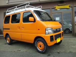 スズキ エブリィ ワゴン 4WD (型式DA62W) FAFコンプリートカー 沖縄県恩納村 M様