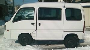 スバル サンバー バン 4WD (型式TV2) 北海道札幌市 S様