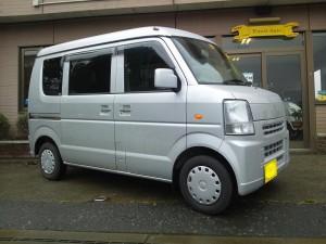 エブリィ バン 4WD (型式DA64V) FAFリフトアップスプリング取り付け 愛知県豊橋市 I様