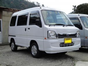 スバル サンバー バン 4WD (型式TV2) 京都府南丹市 O様