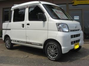 ダイハツ ハイゼット デッキバン 4WD (型式S330W) FAFコンプリートカー  高知県四万十町 K様