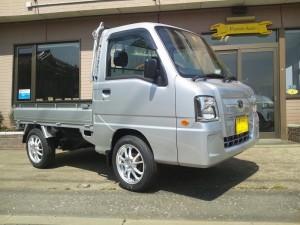 サンバー トラック 4WD (型式TT2) FAFリフトアップスプリング取り付け 神奈川県横浜市 W様