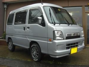 サンバー バン 4WD (型式TV2) FAFリフトアップスプリング取り付け 東京都武蔵野市 I様