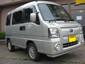サンバー ディアス 4WD (型式TV2) FAFリフトアップスプリング取り付け 新潟県妙高市 F様