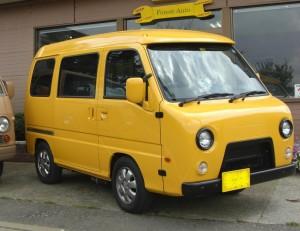 サンバー PAZ 4WD (型式TW2) FAFリフトアップスプリング取り付け 東京都狛江市 T様