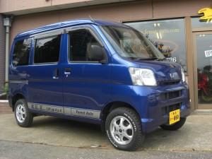 ダイハツ ハイゼット バン 4WD (型式S330V) FAFコンプリートカー 秋田県八郎潟町 W様