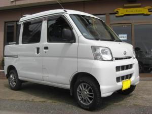 ハイゼット デッキバン 4WD (型式S330W) FAFリフトアップスプリング取り付け 千葉県香取市 S様