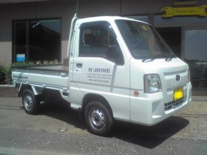 サンバー トラック 4WD (型式TT2) FAFリフトアップスプリング取り付け千葉県銚子市 M様