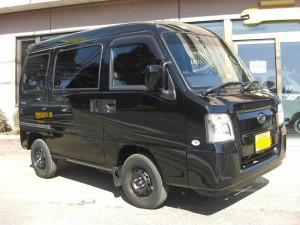 サンバー バン 4WD (型式TV2) FAFリフトアップスプリング取り付け 千葉県船橋市 N様