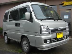 サンバー ディアス 4WD (型式TW2) FAFリフトアップスプリング取り付け 千葉県市原市 M様