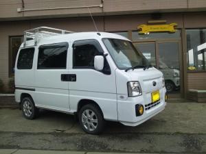 サンバー バン 4WD SC (型式TV2) FAFリフトアップスプリング取り付け 千葉県鎌ケ谷市 M様