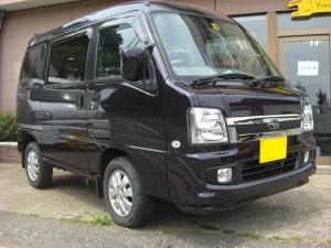 サンバー ディアス 4WD (型式TW2) FAFリフトアップスプリング取り付け 栃木県日光市 O様
