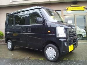 エブリィ バン(型式DA64V) FAFリフトアップスプリング取り付け 千葉県香取市 (有)リコー農研 N様