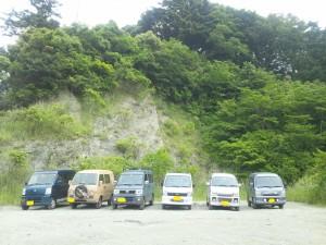 【第1回 FAF 未舗装林道走り隊】 2012・06・02