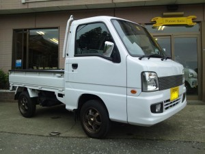 スバル サンバー トラック 4WD スーパーチャージャー (型式TT2) 千葉県船橋市 O様