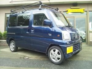 ミツビシ タウンボックス 4WD ターボ(型式U64W) FAFリフトアップスプリング取り付け 東京都福生市 Y様