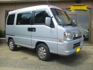 スバル サンバー ディアス SC 4WD (型式TW2) FAFリフトアップスプリング取り付け 東京都東大和市 N様