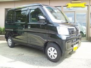 ダイハツ ハイゼット カーゴ 4WD (型式S331V) FAFリフトアップスプリング取り付け 東京都墨田区 S様