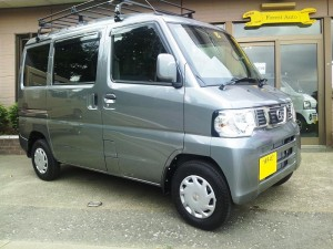 ニッサン クリッパーNV100 4WD (型式U72V) FAFリフトアップスプリング取り付け 東京都練馬区 K様
