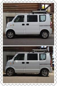スズキ エブリィ バン 4WD (型式DA64V) 新潟県 燕市 M様