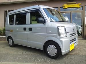 エブリィ バン (型式DA64V) FAFリフトアップスプリング取り付け  東京都練馬区 M様