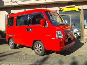 サンバーディアス バン 4WD SC  (型式TV2)  茨城県大洗町  Y様