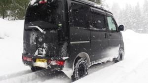ダイハツ ハイゼット カーゴ クルーズ 4WD ターボ(型式S331V) 新潟県 阿賀野市 T 様