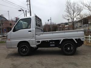 スバル サンバー トラック 4WD (型式TT2) 北海道 小樽市  (有)カーショップ ピアット 様