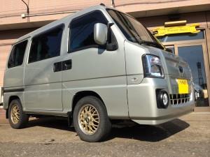 スバル サンバー ディアス 4WD SC (型式TV2) 茨城県 ひたちなか市 E 様