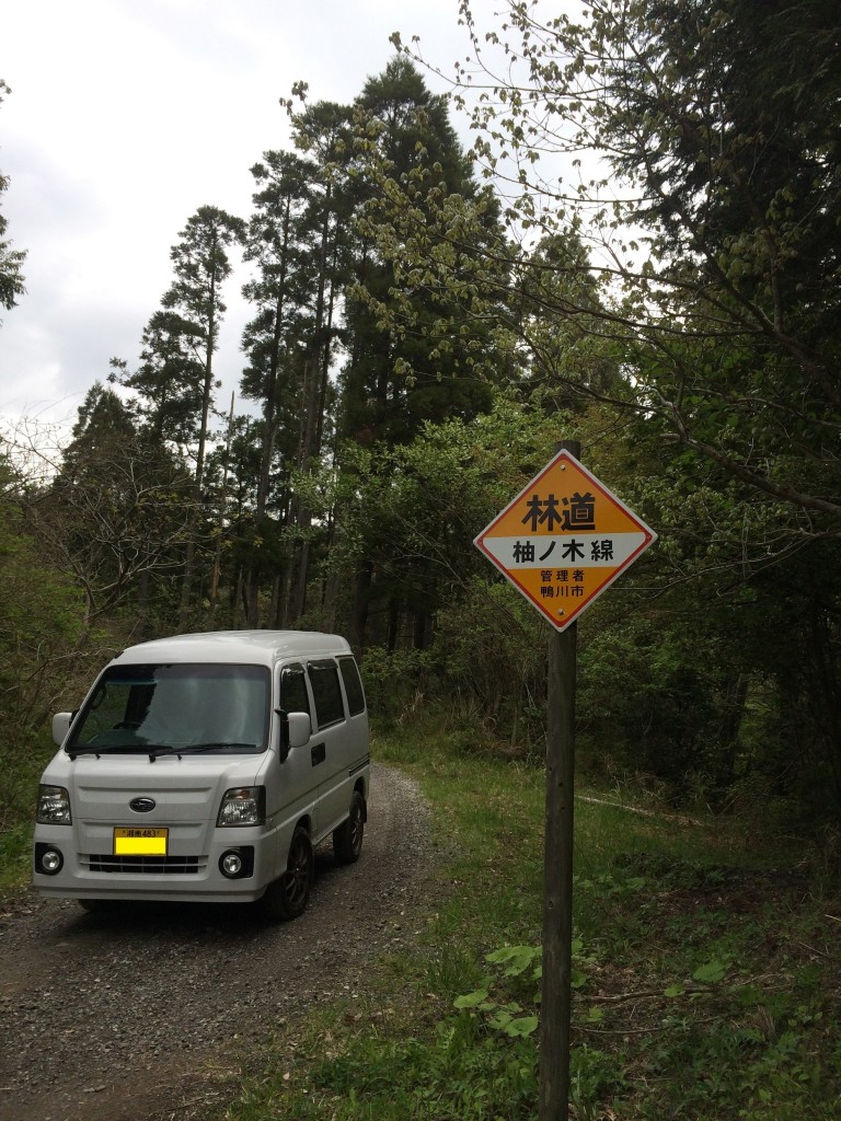 袖ノ木林道