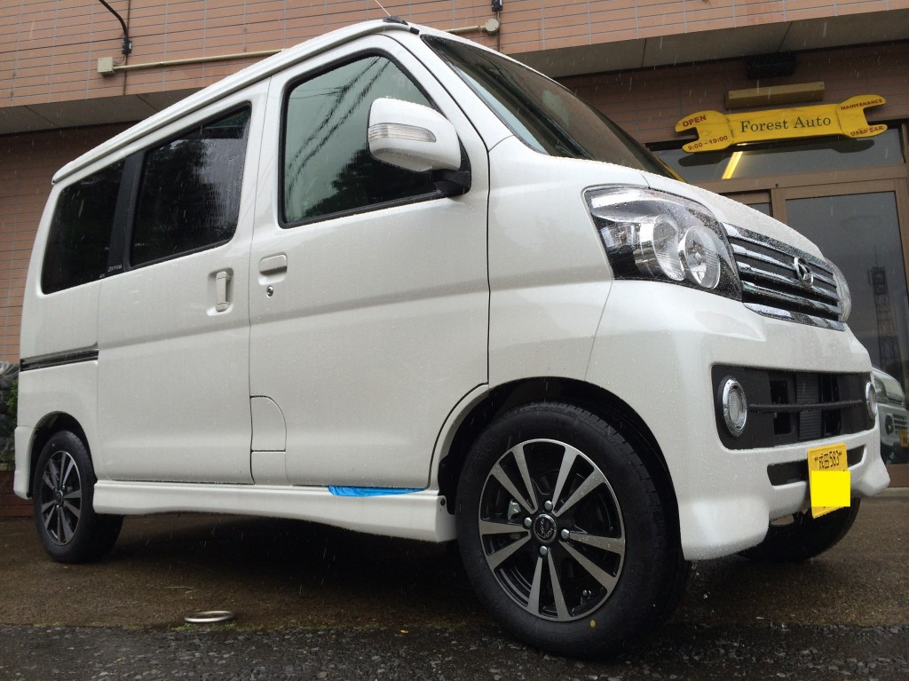 ダイハツ アトレー ワゴン 4WD ターボ(型式S331G) 千葉県 成田市 E 様