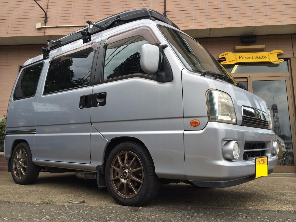 スバル サンバー ディアス ワゴン 4WD SC(型式TW2) 茨城県 水戸市 O 様