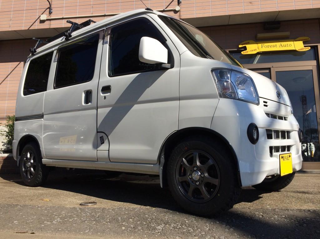 ダイハツ ハイゼット カーゴ クルーズ 4WD ターボ(型式S331V) 神奈川県 横須賀市 I 様