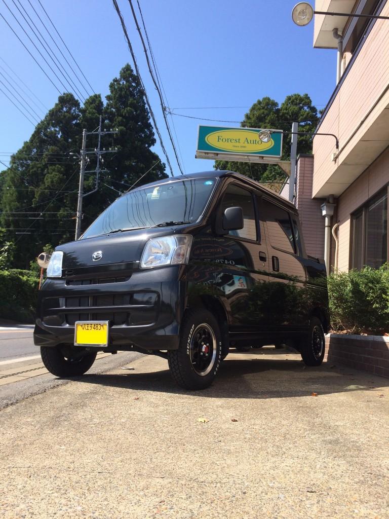 ダイハツ ハイゼット デッキバン 4WD(型式S331W) 東京都 八王子市 O 様