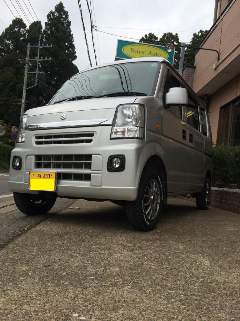 スズキ エブリイ ジョイン 4WD ターボ(型式DA64V) 千葉県 我孫子市 N 様
