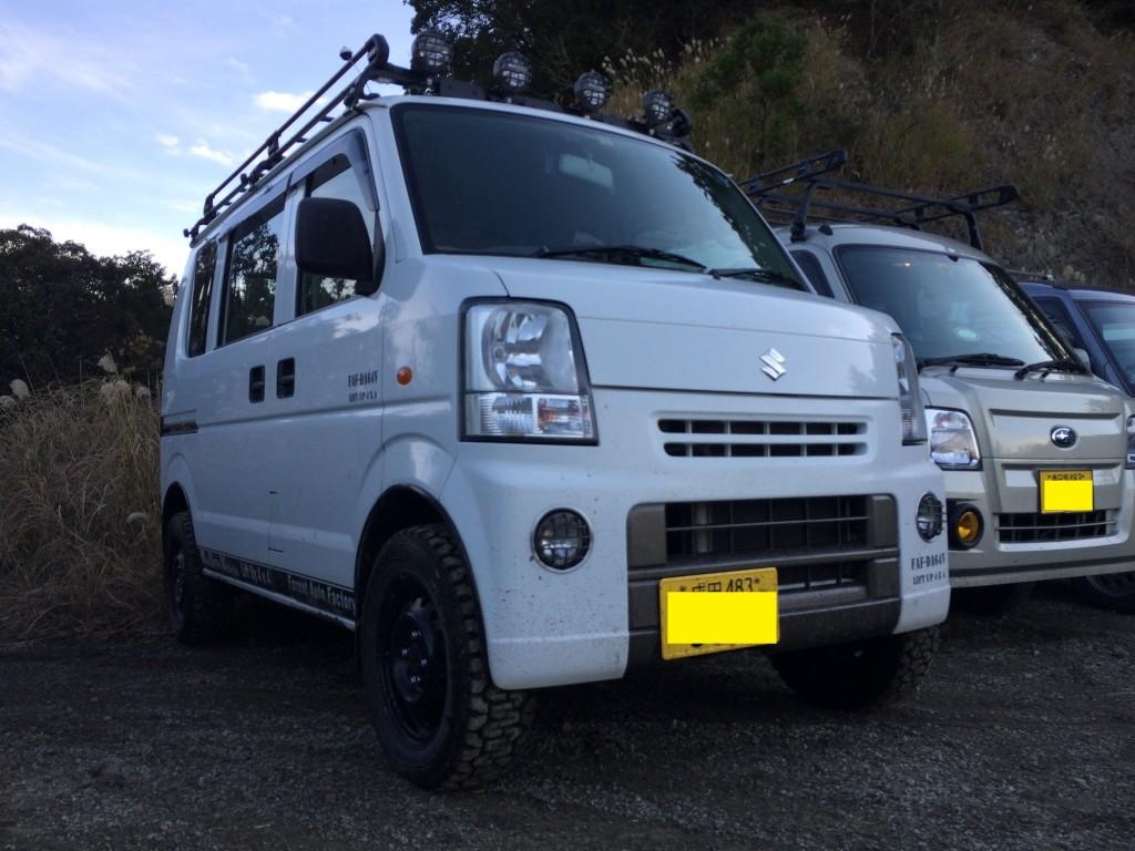 FAF未舗装10 FAF‐DA64VⅡ-1 2014.12.7