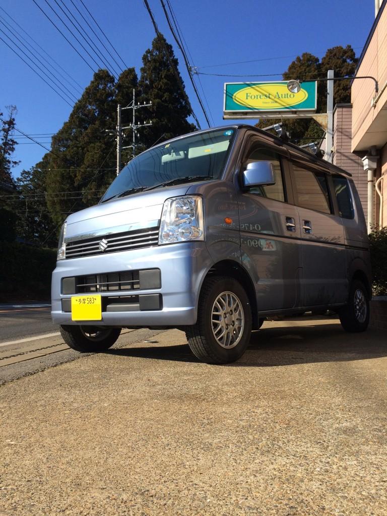 スズキ エブリイ ワゴン 4WD ターボ(型式DA64W) 東京都 町田市 N 様