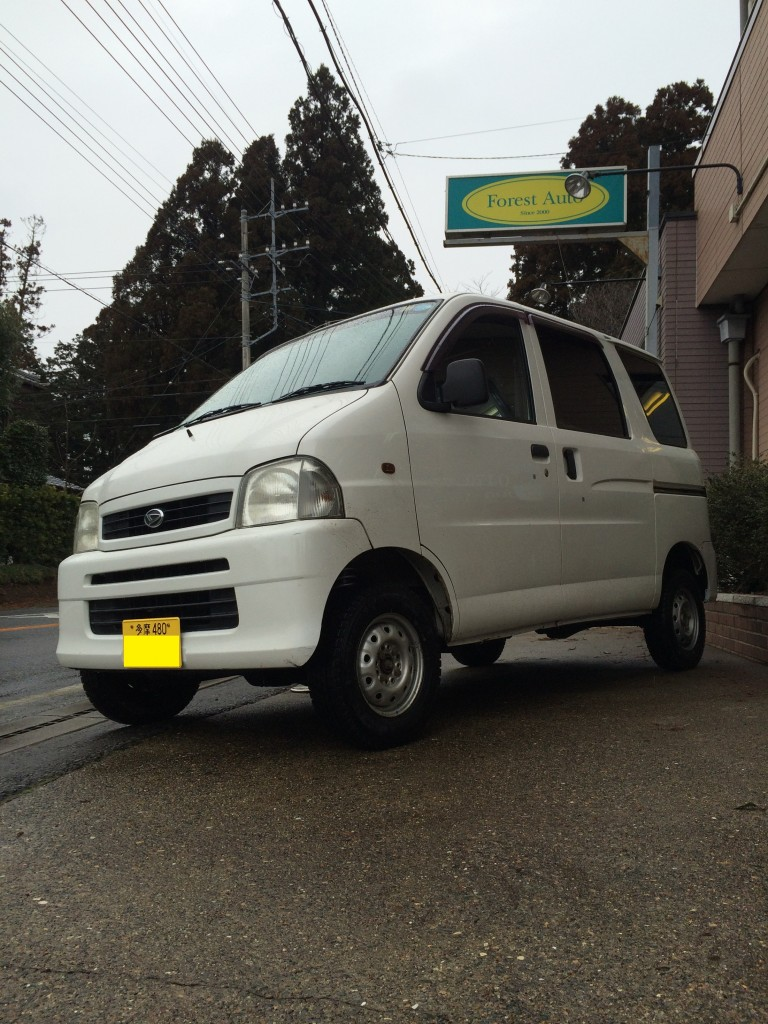 FAFリフトアップスプリング取り付け ダイハツ ハイゼット カーゴ 4WD(型式S210V) 東京都 武蔵村山市 N 様
