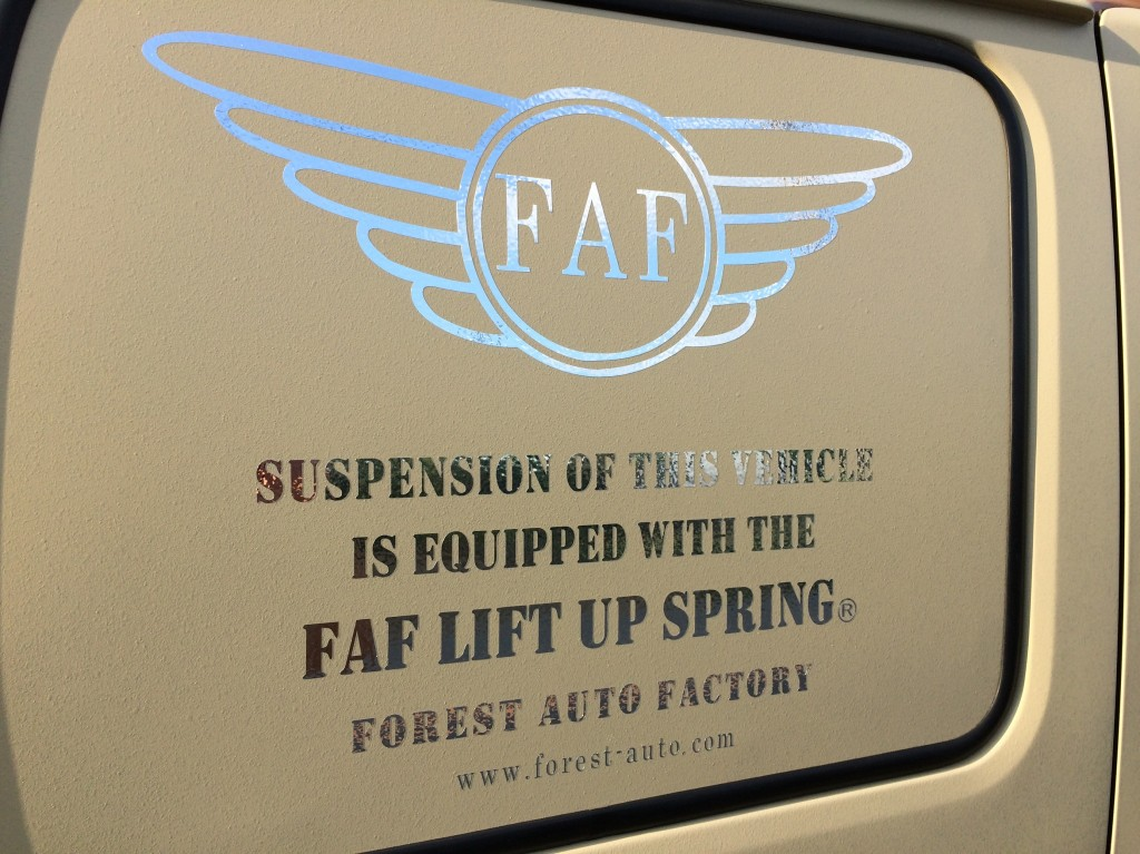 FAFリフトアップサブロクサンバーTKT8