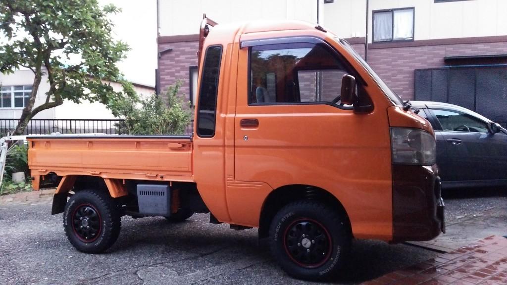 ダイハツ ハイゼット トラック ジャンボ4WD(型式S211P) FAFリフトアップスプリングR取り付け後のお客様のコメント 静岡県掛川市 M 様