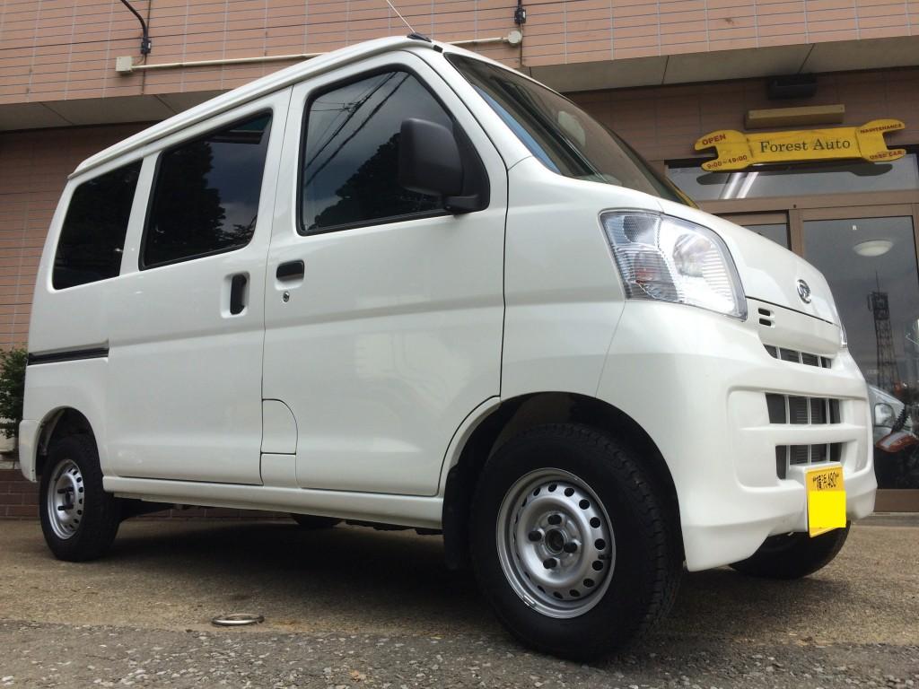 FAFリフトアップスプリングR取り付け ダイハツ ハイゼット カーゴ 2WD(型式S321V) 神奈川県 横浜市 Y 様