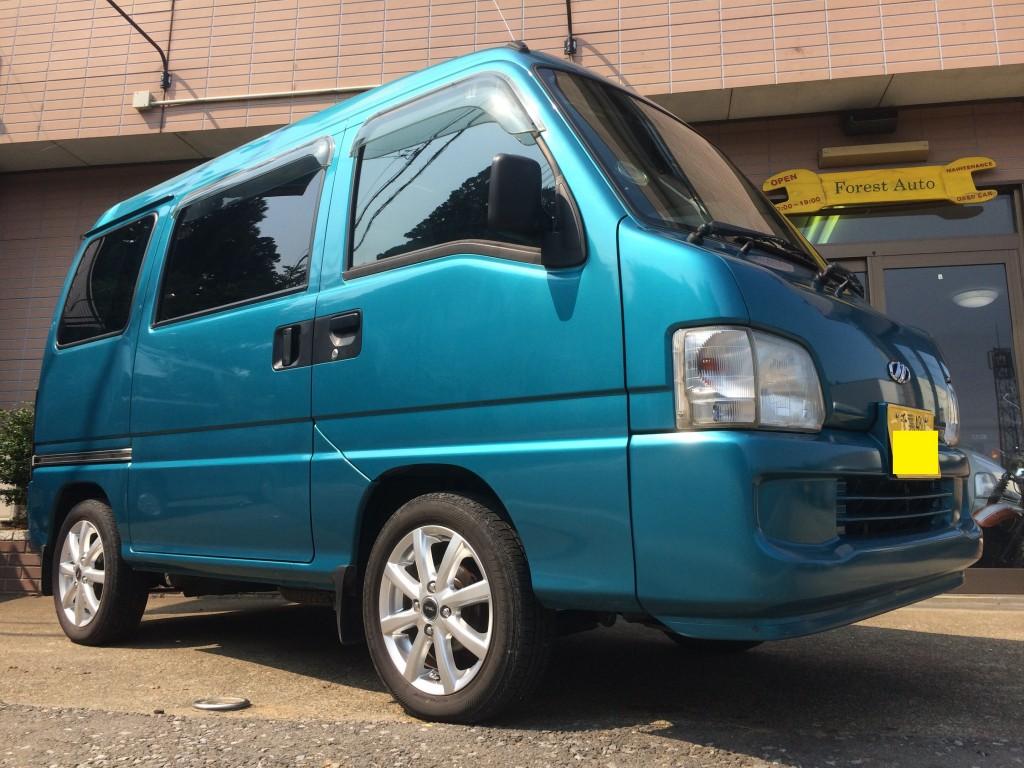FAFリフトアップスプリングR取り付け スバル サンバー バン 2WD(型式TV1) 千葉県 佐倉市 S 様