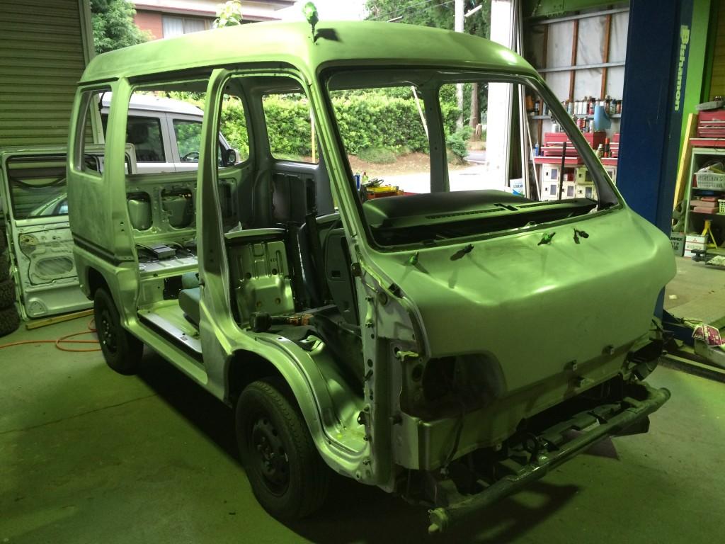 スバル サンバー バン 4WD(型式TV2) FAF-TV2 フライフィッシング専用車!? 茨城県 坂東市 H 様